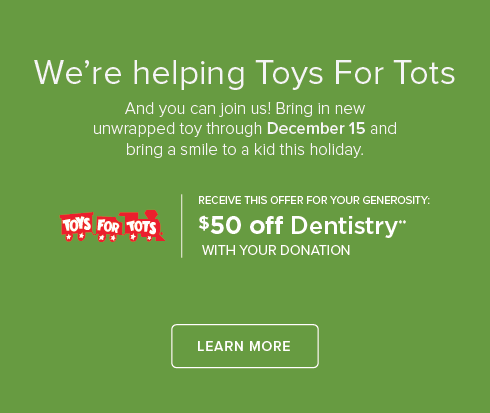 Glenwood Dentistry and Orthodontics - Toys For Tots